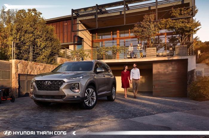 Hyundai Santafe 2020, đủ màu giao ngay 13