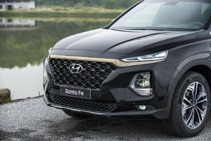 Hyundai Santafe 2020, đủ màu giao ngay 16