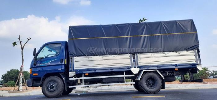 Hyundai 110S Thùng Mui Bạt 7 Tấn
