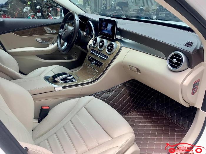 Xe Chính Chủ bán Mercedes C250 Exclusive 2017 màu trắng nội thất kem sang trảnh và lịch lãm, giá tốt 2