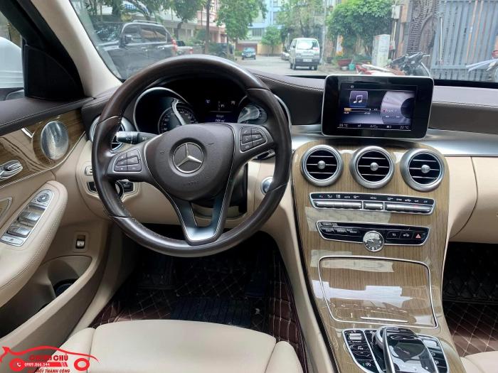 Xe Chính Chủ bán Mercedes C250 Exclusive 2017 màu trắng nội thất kem sang trảnh và lịch lãm, giá tốt 12