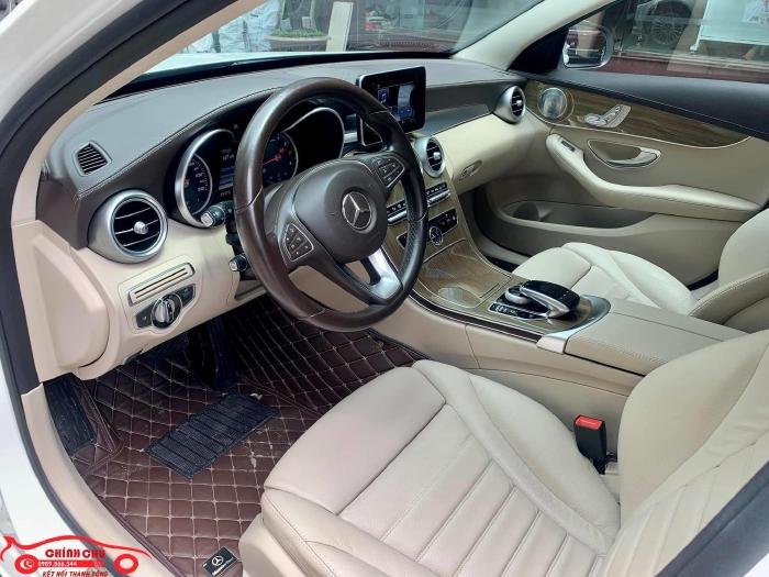 Xe Chính Chủ bán Mercedes C250 Exclusive 2017 màu trắng nội thất kem sang trảnh và lịch lãm, giá tốt 7
