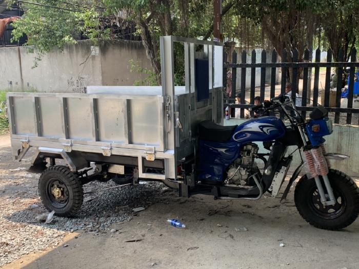 Xe ba gác máy  - Xe Hoa Lâm Đức Hoàng -Lắp Ráp Xe Hoa Lâm Ba Bánh · Giao Xe Tận Nơi Miễn Phí