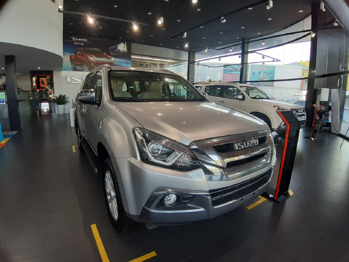 Báo Giá Xe Isuzu Mux 2020 Trả Góp - Isuzu SUV 7 Chỗ 2020 Giá Sốc 4