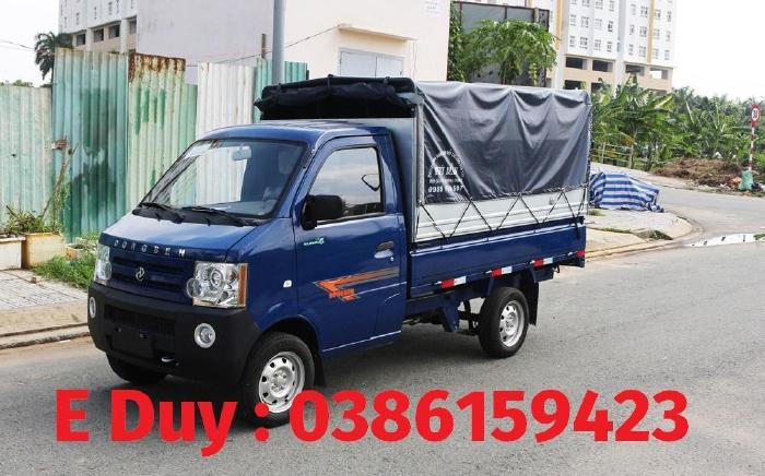 Giá xe tải dongben mới nhất +bình dương   xe dongben 2021 : dongben db1021 thùng - 870kg   810kg   770kg .