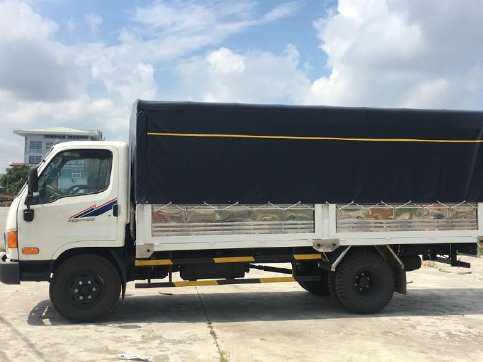 Bán xe New Mighty 2017 máy Huyndai thùng dài 5m 3