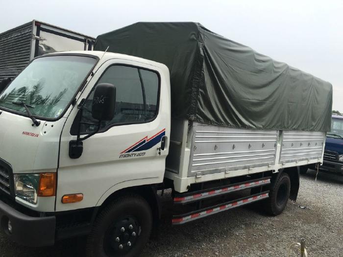Bán xe New Mighty 2017 máy Huyndai thùng dài 5m 4