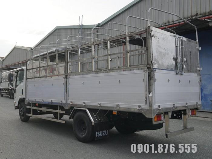 Xe Tải Isuzu NQR550 5T5 Thùng Kín Dài 6m1 Hỗ Trợ Ngân Hàng 80% 3