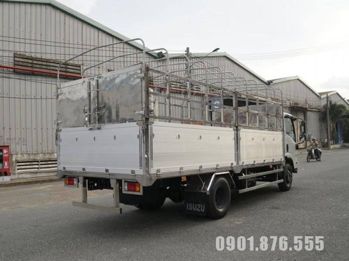 Xe Tải Isuzu NQR550 5T5 Thùng Kín Dài 6m1 Hỗ Trợ Ngân Hàng 80% 4