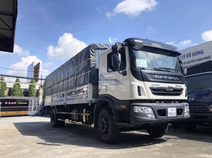 Daewoo 9 tấn thùng dài 7,6m 4