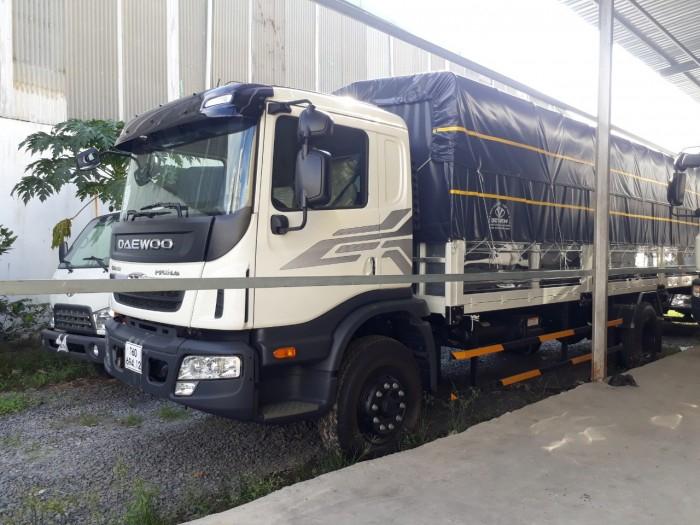 Daewoo 9 tấn thùng dài 7,6m 1
