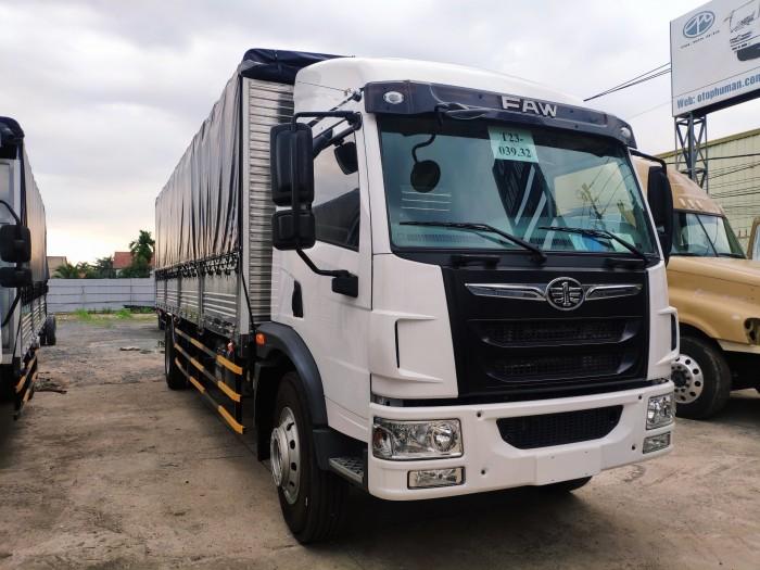 Giá bán xe tải faw 8 tấn thùng dài 8m | xe tải vận chuyển hàng hóa palet, nệm 2