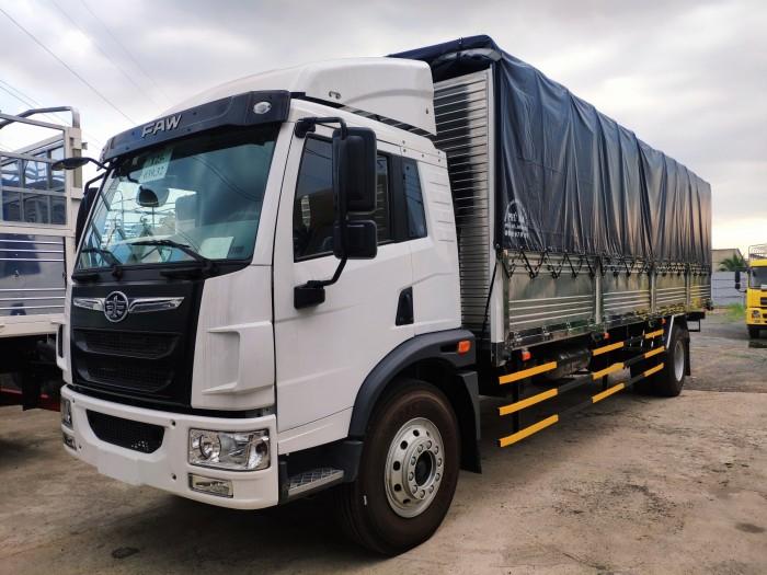 Giá bán xe tải faw 8 tấn thùng dài 8m | xe tải vận chuyển hàng hóa palet, nệm 3