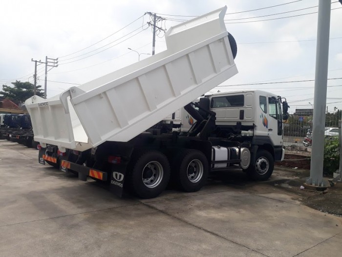 Daewoo ben 12,7 tấn thùng 10 khối khuyến mãi cực sốc 1