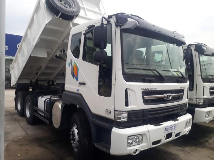 Daewoo ben 12,7 tấn thùng 10 khối khuyến mãi cực sốc