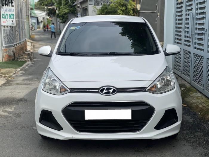 Cần bán xe i10 2017, số sàn, màu trắng tinh ngọc trinh còn mới tinh 4