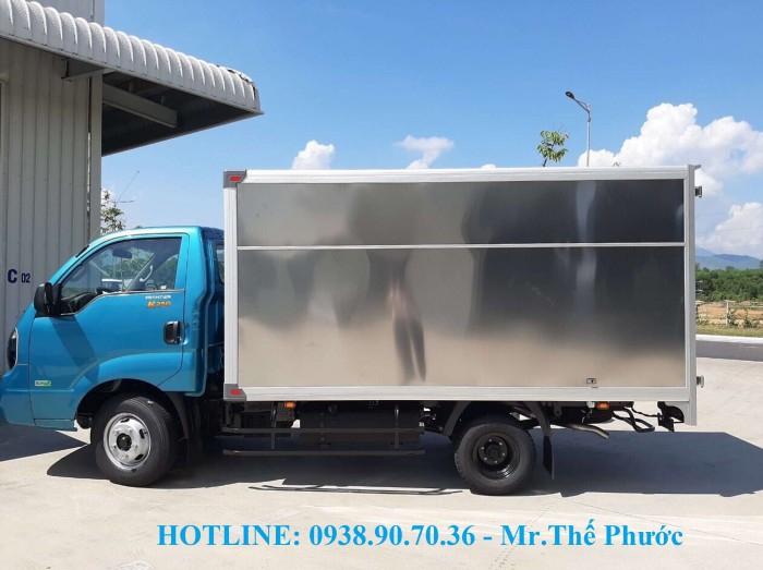 Bán xe tải KIA K250 thùng kín, vách Inox, tải 2,5 tấn. Xe sẵn giao ngay 0