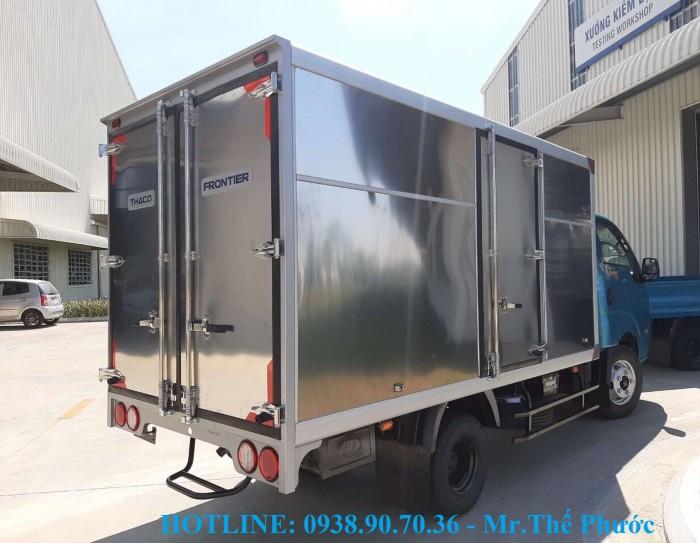 Bán xe tải KIA K250 thùng kín, vách Inox, tải 2,5 tấn. Xe sẵn giao ngay 1
