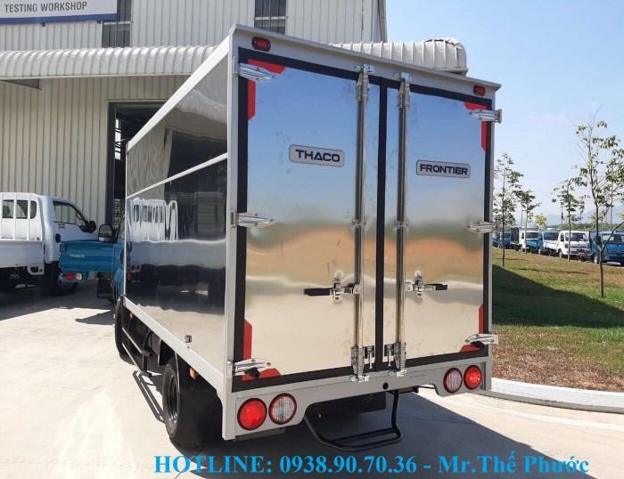 Bán xe tải KIA K250 thùng kín, vách Inox, tải 2,5 tấn. Xe sẵn giao ngay 2