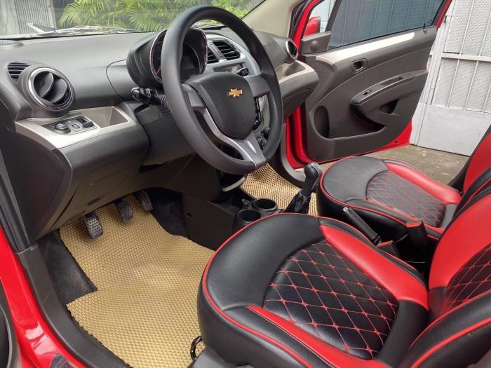 Bán Chevrolet Spark LT 2018 dk 2019, số sàn, màu đỏ, bản full. 7