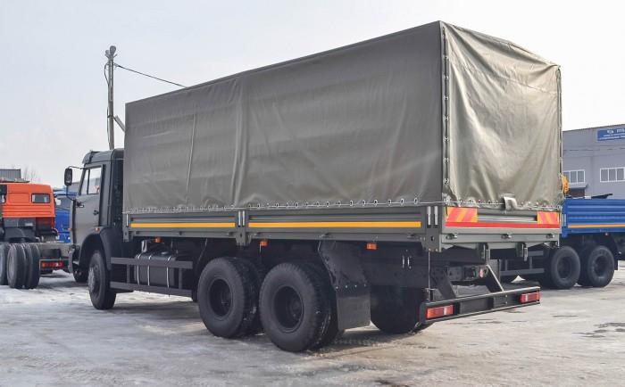 Tải thùng Kamaz 14 tấn | Bán xe tải Kamaz 53229 thùng tại Bình dương 3