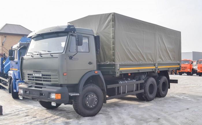 Tải thùng Kamaz 14 tấn | Bán xe tải Kamaz 53229 thùng tại Bình dương 5