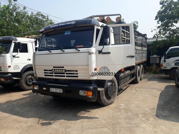Tải thùng Kamaz 14 tấn | Bán xe tải Kamaz 53229 thùng tại Bình dương 0