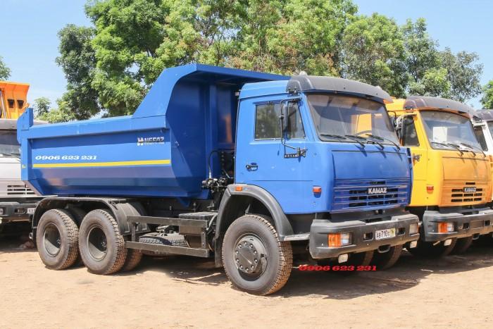 Xe ben Kamaz 15 tấn mới nhất 2020 | Mua bán xe ben Kamaz 65115 cũ & mới 9