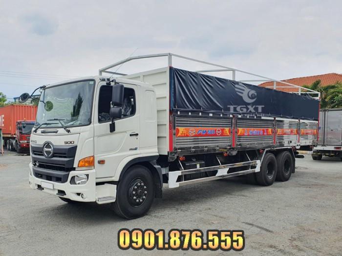 Xe tải Hino FM thùng bạt giá cạnh tranh giao xe nhanh 0