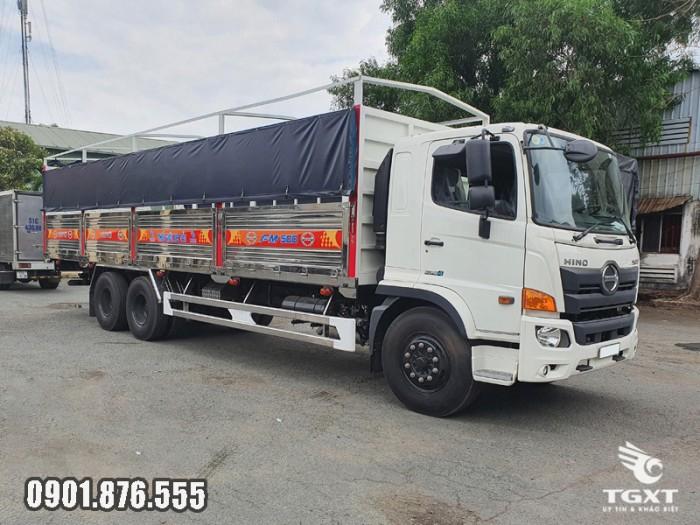 Xe tải Hino FM thùng bạt giá cạnh tranh giao xe nhanh 3