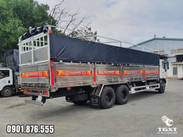 Xe tải Hino FM thùng bạt giá cạnh tranh giao xe nhanh 4