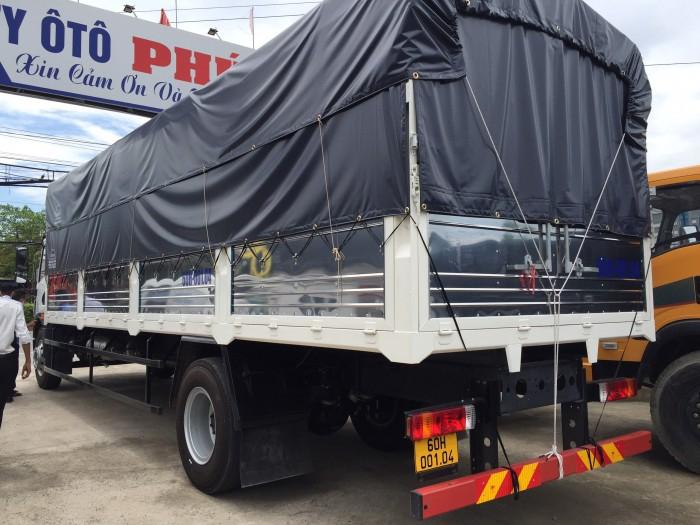 Giá bán xe tải faw 8 tấn thùng dài 8m | xe tải 8 tấn thùng kín chở hàng palet 3