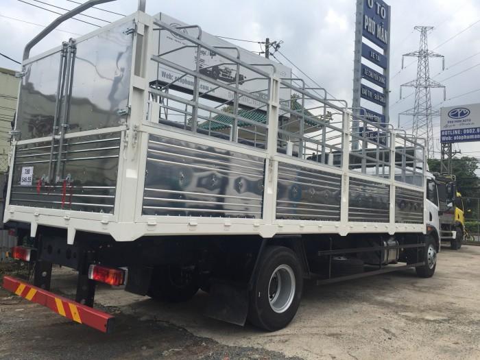 Giá bán xe tải faw 8 tấn thùng dài 8m | xe tải 8 tấn thùng kín chở hàng palet 5