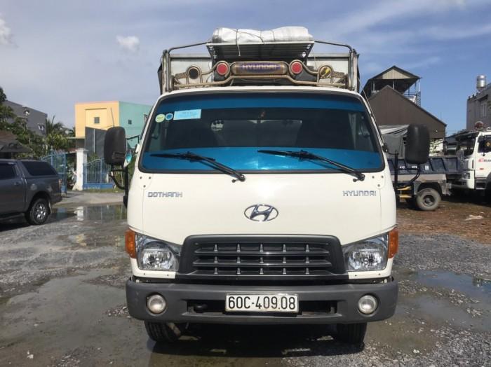 cần bán xe tải hd120sl đời 2017 tải 8t thùng dài 6m3 giá tốt có hỗ trợ góp 3