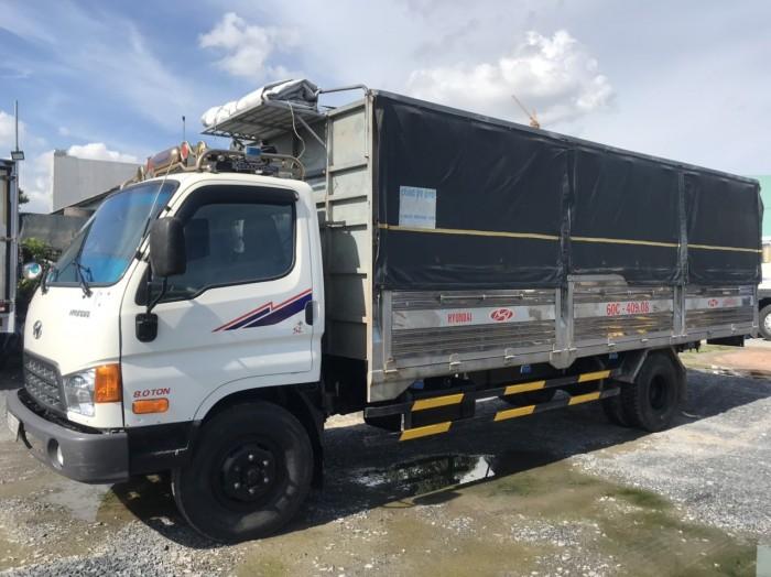 cần bán xe tải hd120sl đời 2017 tải 8t thùng dài 6m3 giá tốt có hỗ trợ góp 6
