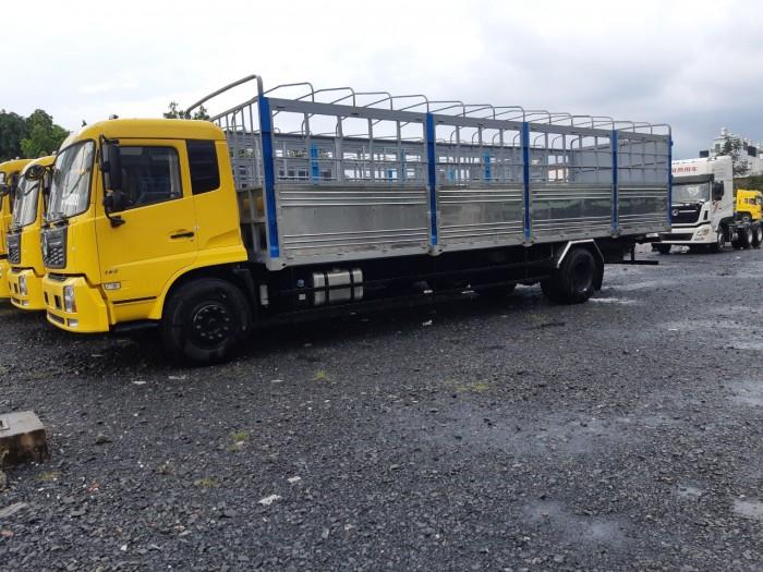 Báo giá xe tải dongfeng B180 9 tấn thùng mui bạt 7,6m