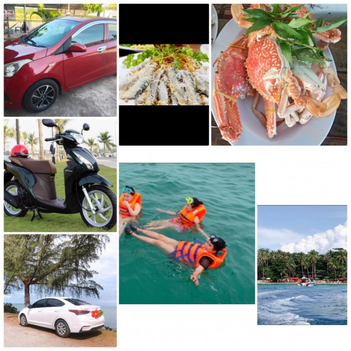 Cho thuê xe ô tô giá rẻ - chất lượng - nhanh chóng nhất phú quốc !!! 4