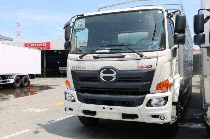 Báo giá xe tải HiNo FG8JT7A-G, 8,5 tấn, Thùng mui bạt 8,7m