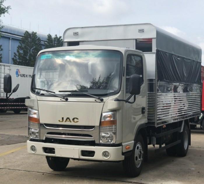 Báo giá xe tải trường lái Jac 3t45 CaBin vuông, Bảo hành 5