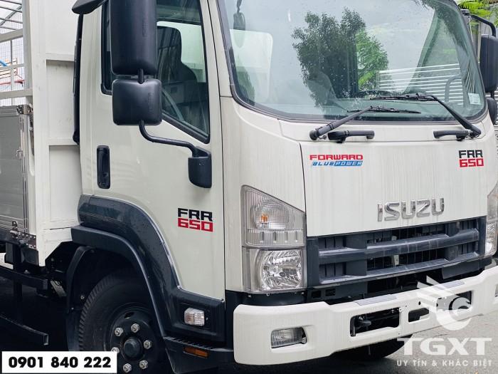 Xe tải Isuzu FRR650 thùng bạt, tải 6T5 thùng 6m7, trả trước 20% 4