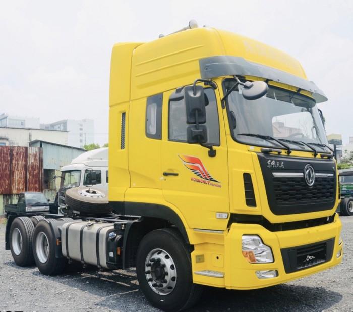 Báo giá xe đầu kéo Dongfeng DFH4250A4 - Đầu kéo Dongfeng Hoàng Huy 2 Cầu 420H