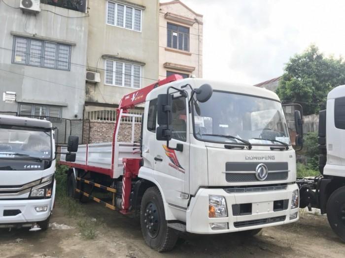 Báo giá xe cẩu Dongfeng 4 chân