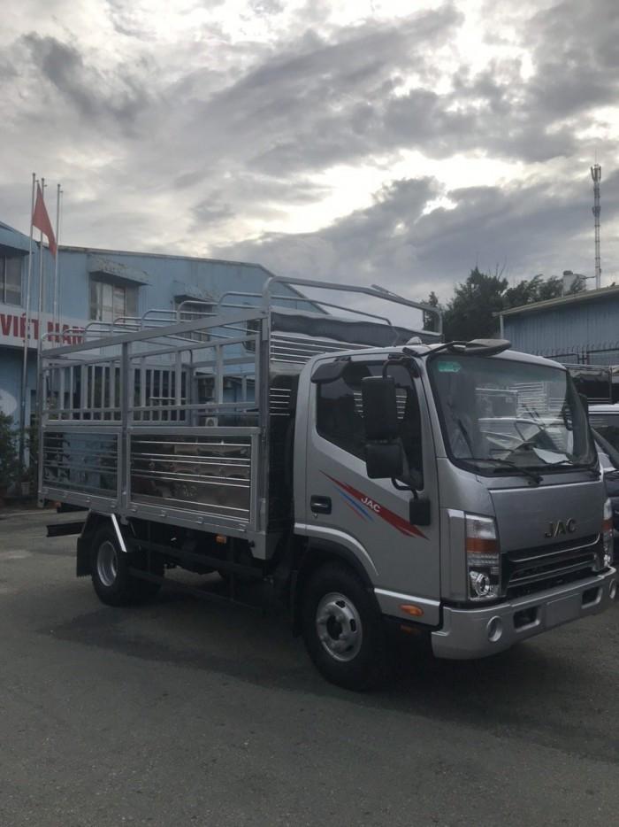 Báo giá xe tải jac 4.99t thùng kín