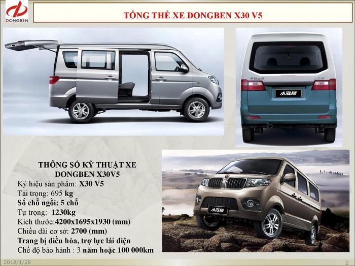 Xe Van Dongben X30 V2 (2 chỗ) | Bán xe Van tại Bình Phước 4