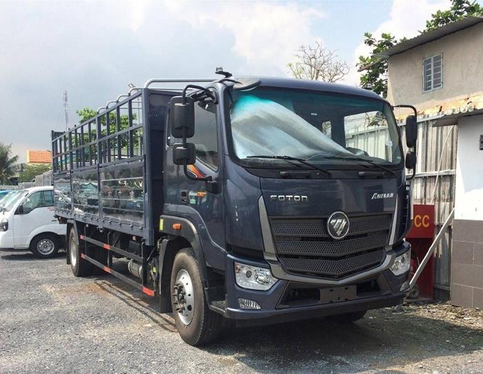 Bán xe tải 9 tấn tại hải dương Thaco Auman c160 mui bạt 0
