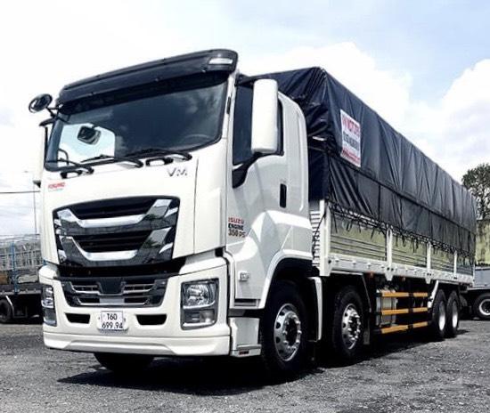 Gía xe tải GINGA ISUZU 4 Chân