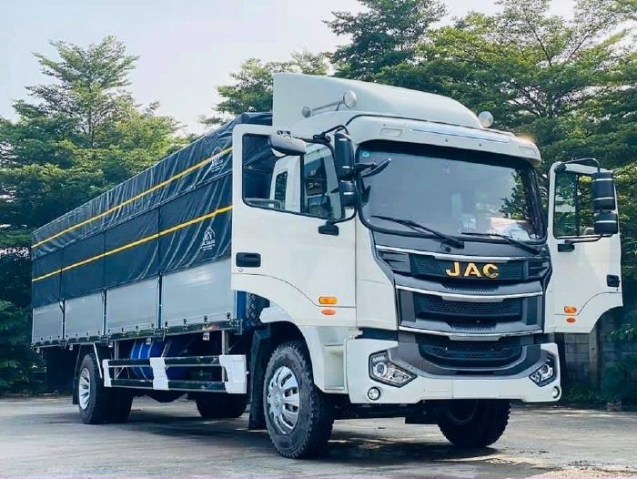 Báo giá xe tải JAC A5 9 tấn, thùng 8m nhập khẩu nguyên chiếc