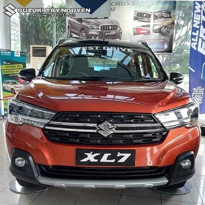 Xe nhập khẩu SUZUKI XL7 2020 bản ghế nỉ ( AT đặc biệt ) màu Cam - Không chỉ đẹp mà còn rộng rãi thoải mái nhất phân khúc 1