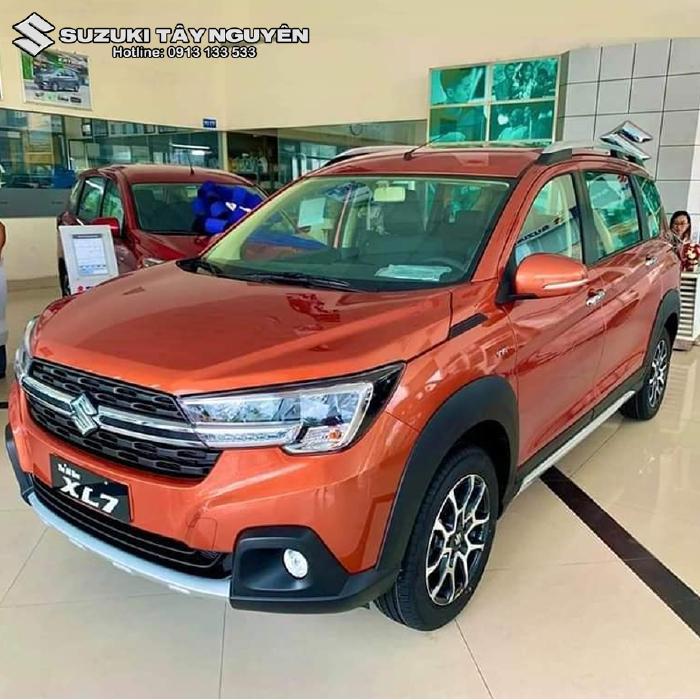 Xe nhập khẩu SUZUKI XL7 2020 bản ghế nỉ ( AT đặc biệt ) màu Cam - Không chỉ đẹp mà còn rộng rãi thoải mái nhất phân khúc 2