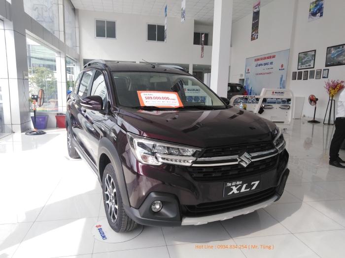 Suzuki Xl7 2020 Màu Mận Đỏ - Khuyến Mãi 20 Triệu - Tặng Ghế Da & Bảo Hiểm